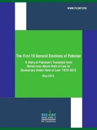 The First Ten General Elections of Pakistan
