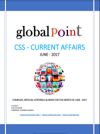Monthly Global Point Current Affairs June 2017