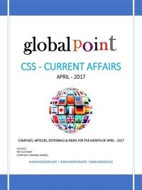 Monthly Global Point Current Affairs April 2017