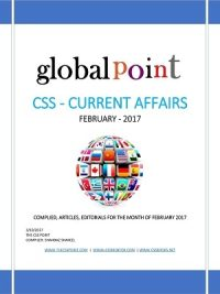 Monthly Global Point Current Affairs January 2017