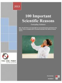 Everyday Science – 100 Scientific Reasons