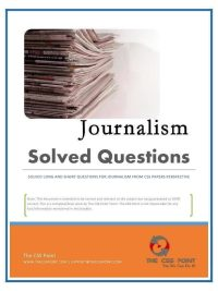 CSS Solved Journalism Questions eBook