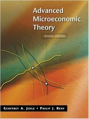 Advanced Microeconomic Theory By Jehle and Reny With Key