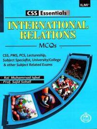 CSS Essentials International Relations MCQs