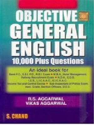 10000 Objective General English By Aggarwal