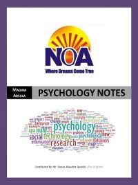 CSS Complete Notes for Psychology By NOA
