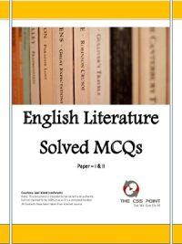 English Literature Solved MCQs