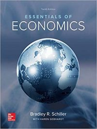 Essentials of Economics By Bradley R Schiller 10th Edition