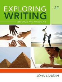 Exploring Writing Paragraphs and Essays 2nd Edition John Langan