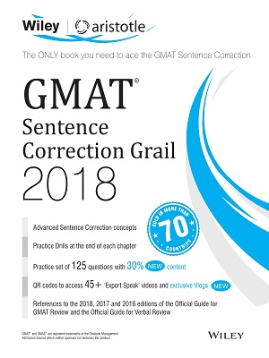 GMAT Sentence Correction Grail 2018