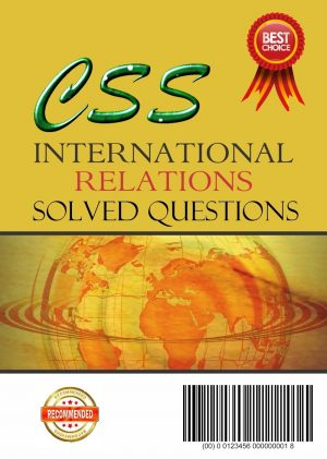 International Relations Solved Questions eBook