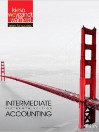 Intermediate Accounting 15th Edition By Donald E. Kieso