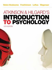 Introduction to Psychology 15th Edition By Atkinson & Hilgard