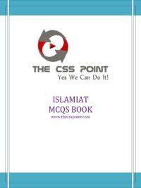 Islamiat MCQs Book