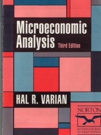 Microeconomic Analysis 3rd Edition By Hal Varian