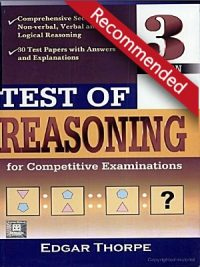 Test of Reasoning with Solved Answers 3rd Edition By Thorpe