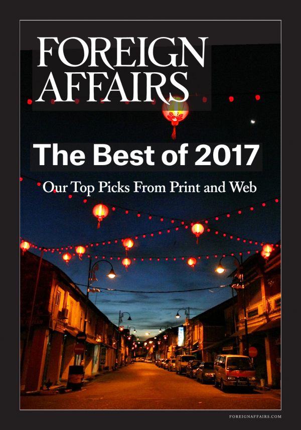 The Best of 2017 Foreign Affairs