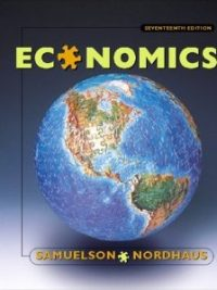 Economics 16th Edition By Paul A Samuelson & William D Nordhaus