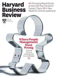 Harvard Business Review September October 2020