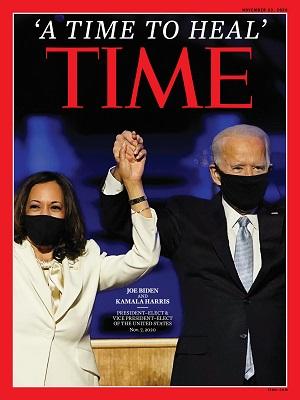 Time Magazine 23rd November 2020