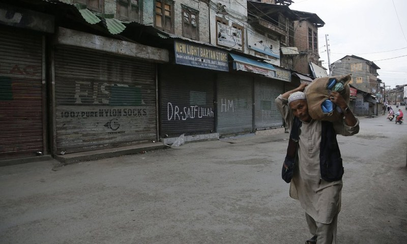 Kashmir on The International Radar By Sajjad Shaukat