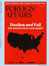 Foreign Affairs March April 2021 Issue