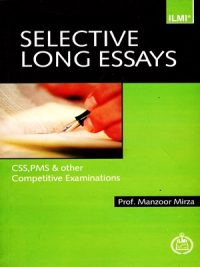 Selective Long Essays By Prof. Manzoor Mirza ILMI
