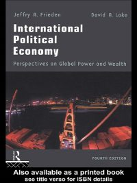 International Political Economy By Jeffry A.Frieden and David A.Lake