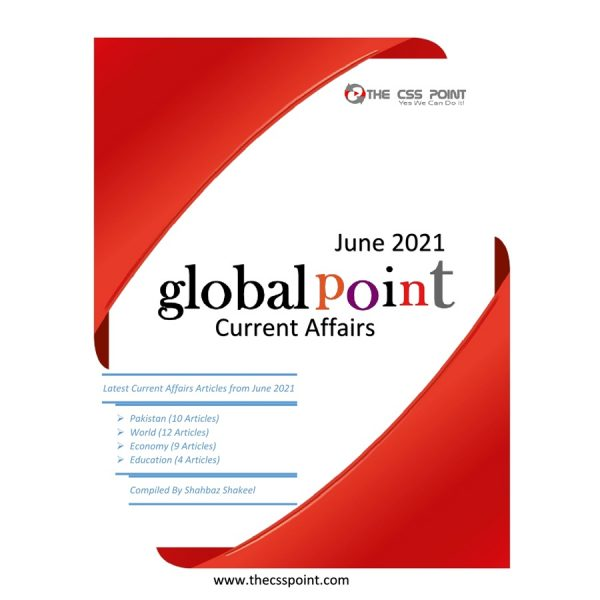 Monthly Global Point Current Affairs June 2021