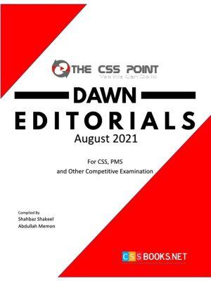 Monthly DAWN Editorials August 2021