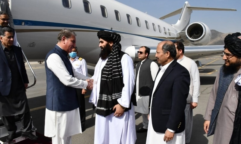 FM Qureshi in Kabul For 'High-Level' Talks on Bilateral Relations By Naveed Siddiqui
